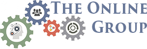 Picture of the logo of the online group - interconnected cogs depicting the association of several layers of digital marketing and website development